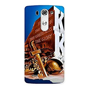 Gorgeous King Power Back Case Cover for LG G3 Mini
