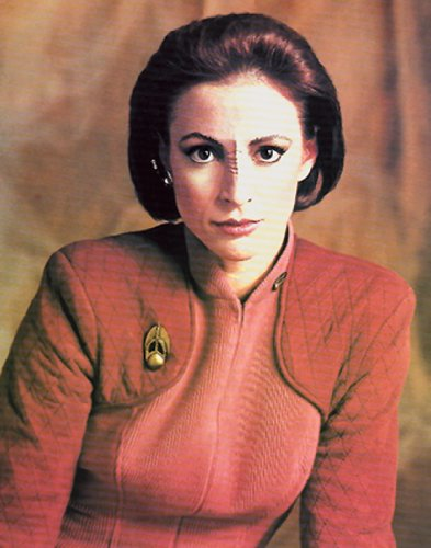 Star Trek Deep Space Nine Major Kira Merys Sci Fi TV Television Postcard Poster Print 11x14