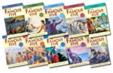 Enid Blyton The Famous Five Classic Editions Collection - 10 Books, RRP £49.90 (Treasure Island; 2Adventuring Again; Run Away Together; Smuggler's Top; Go Off In A Caravan; Kirrin Island Again; Off To Camp; Get Into Trouble; Fall Into Adventure; Hike To