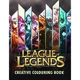 League of Legends Creative Colouring: LOL, LoL, Creative colouring, Gamer, Esports, Riot Games, Gaming, Gaming books, League of Legends, Twitch, ... Fnatic, FNC, Team solo mid, TSM, CLG, SKT