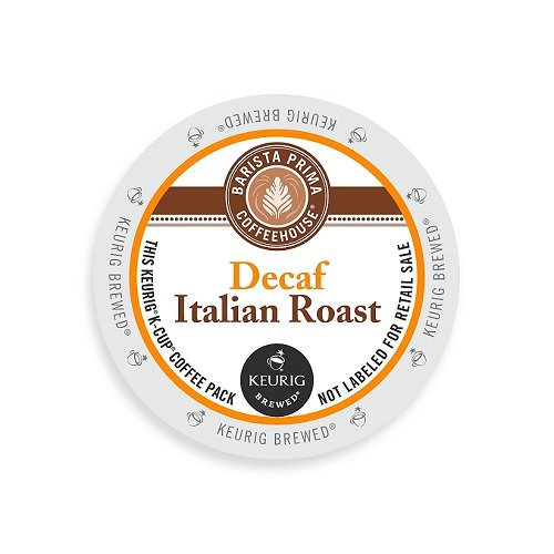 Barista Prima Coffeehouse Dark Roast Extra Bold K-Cup for Keurig Brewers, Decaf Italian Roast Coffee,4 pack of 24 cups each (96 count) (Italian Roast K Cups Coffee compare prices)