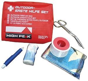 High Peak Erste Hilfe Set, rot, 42008 von High Peak