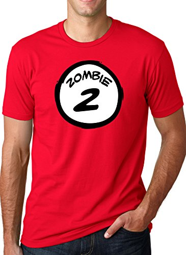 Zombie TWO T Shirt Funny Halloween Couple's Costume Zombies Tee