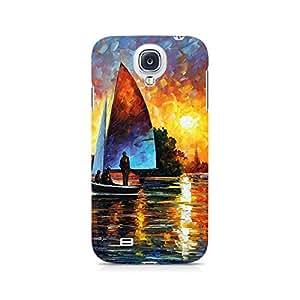 Mobicture Pattern Premium Designer Mobile Back Case Cover For Samsung S4