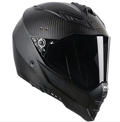 AGV AX-8 Evo Naked Road Helmet (Carbon Fiber, XX-Large) (Motorcycle Helmet Carbon Fiber compare prices)
