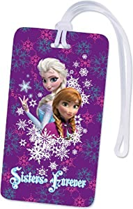 National Design Frozen Luggage and Backpack ID Tag