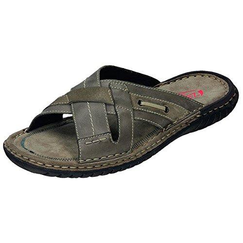 Zen sandali uomo 660201, Marrone (fango/birch), 44 eu