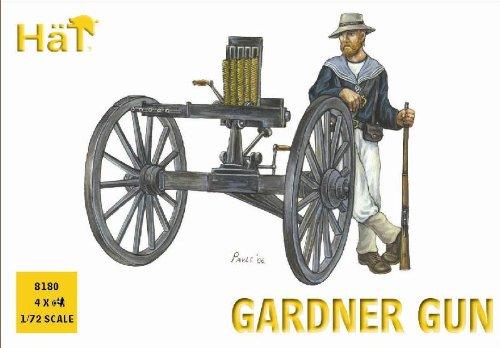 Hat Figures - Nordenfelt Gun and Crew - HAT8180