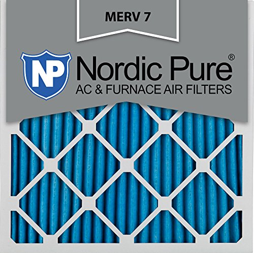 Nordic Pure 14x14x1M7-6 MERV 7 Pleated AC Furnace Air Filter, 14x14x1, Box of 6 (14x14 Air Filter compare prices)