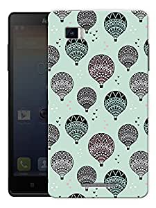 "Hot Air Balloon Vintage Printed Designer Mobile Back Cover For ""Lenovo Vibe P1"" By Humor Gang (3D, Matte Finish, Premium Quality, Protective Snap On Slim Hard Phone Case, Multi Color)"