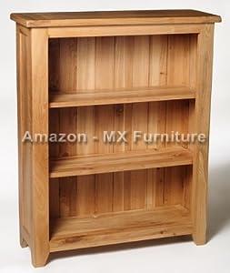 Solid Oak Small Bookcase Kitchen Home