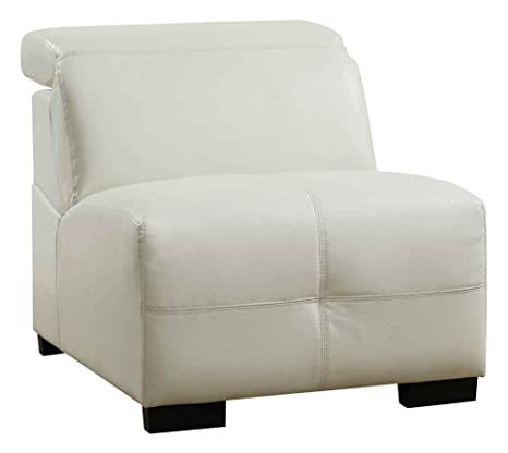 Coaster Darby Armless Chair-White