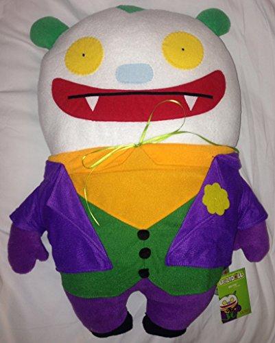 "SDCC 2014 Uglydoll 20"" Big Toe as Joker Pillow Plush"