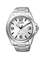 Citizen Analogue White Dial Men's Watch -AW1430-51A