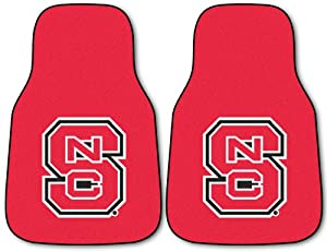 Fanmats North Carolina State Wolfpack Carpeted Car Mats by Fanmats