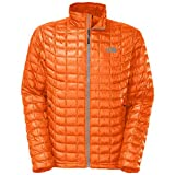 The North Face Men's ThermoBall Full Zip Insulated Jacket, Burnished Orange, X-Large