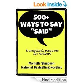 "500+ Ways to Say ""Said"""