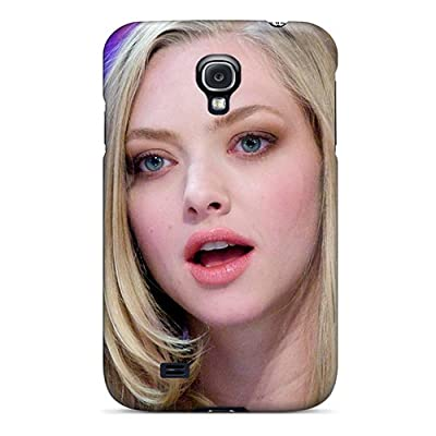 Anti-scratch And Shatterproof Amanda Seyfried At El Hormiguero Phone Case For Galaxy S4/ High Quality Tpu Case