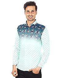 Strak Multicolor Cotton Shirt For Men Size:- M