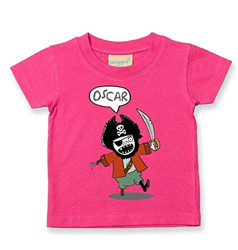 fatcuckoo-camiseta-tripulacion-para-bebe-nino-rosa-fushia-24-meses