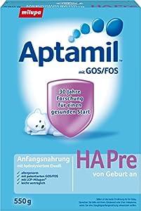 Aptamil HA Pre hypoallergene Anfangsnahrung, 3er Pack (3 x 550 g)