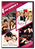 Romance Collection: Four Film Favorites (Music & Lyrics / Rumor Has It... / Sweet November2001 / Lucky You)