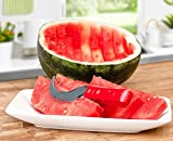 Watermelon Slicer And Corer Stainless Steel - 2 Pack With Comfort PVC Grip Handles for any Kitchen , Neat And Easy With Juicy Slices Of Watermelon