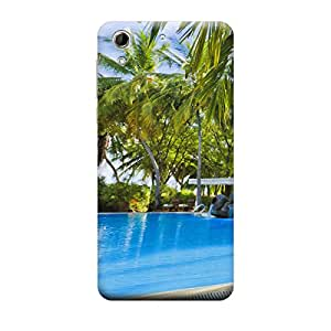 iShell Premium Printed Mobile Back Case Cover With Full protection For HTC 728 (Designer Case)