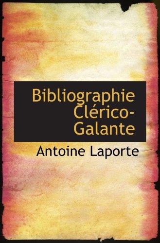 Bibliographie Clérico-Galante