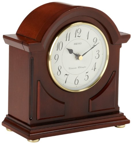 Seiko Mantel Chime Clock Brown