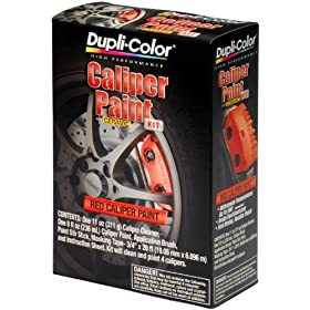 Dupli-Color BCP400 Red Brake Caliper Kit