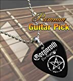 Gorgoroth Pentagram Premium Guitar Pick Necklace
