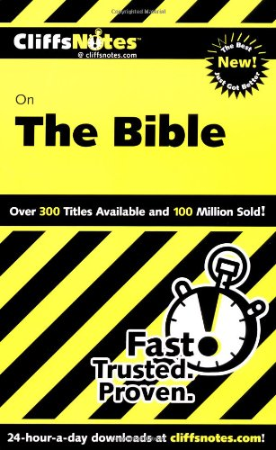 Cliffsnotes On The Bible, Revised Edition (Cliffsnotes Literature Guides) front-495242