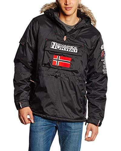 Geographical Norway Cappotto Nero L (FR 40/42)