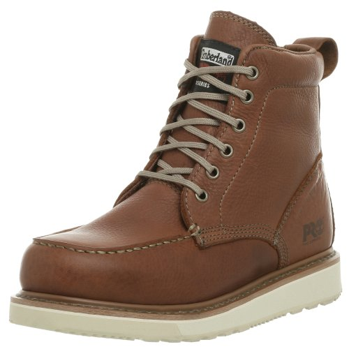 "Timberland PRO Men's 53009 Wedge Sole 6"" Soft-Toe Boot"