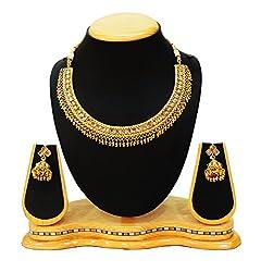 Satyam Jewellery Nx Traditional Party Wear Necklace Set Artificial Jewellery (Wedding Season)