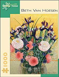 Beth Van Hoesen - Bouquet With Iris: 1,000 Piece Puzzle