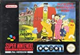 The Addams Family Pugsley's Savenger Hunt Super Nintendo Snes