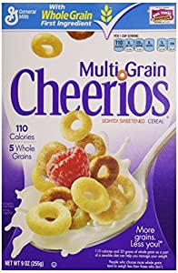 Multi-Grain Cheerios, 9 oz