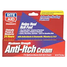 Rite Aid Anti-Itch Cream, Maximum Strength, 1 oz