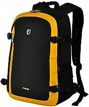 SINPAID Waterproof Canvas Rucksack Backpack Camera Bag For Canon Sony Nikon Yellow
