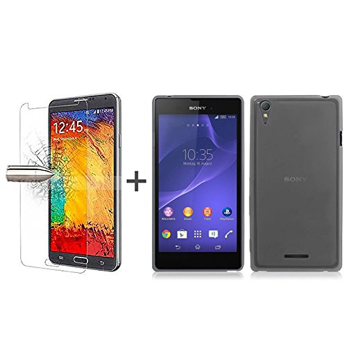 tbocr-pack-black-tpu-silicone-gel-case-tempered-glass-screen-protector-for-sony-xperia-t3-d5102-d510
