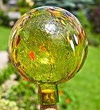Garden sphere apple yellow transparent