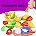 Pretend Play Play Food,12PC Yistu Funny Cutting Fruit Vegetable Educational Toy
