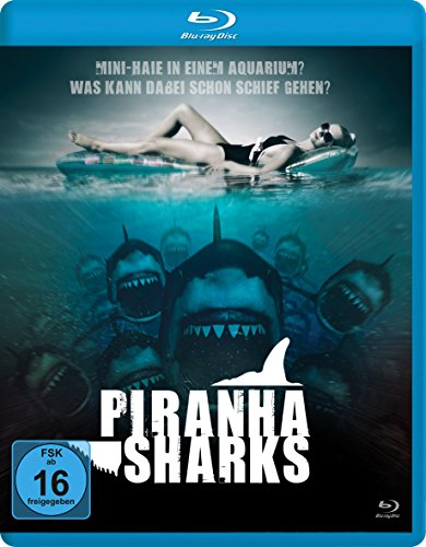 Piranha Sharks [Blu-ray]