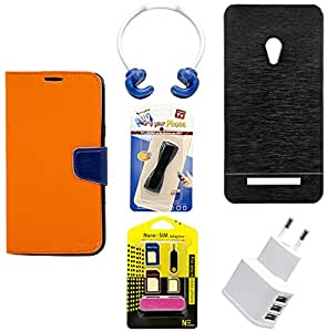 Mify Mobile Accessories Combo for Asus Zenfone 5 A500Cg, Black