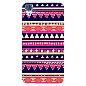Jugaaduu Aztec Girly Tribal Back Cover Case For HTC Desire 820 Dual Sim