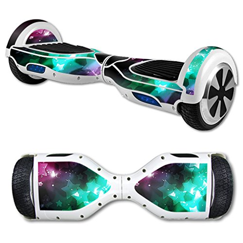 MightySkins-Protective-Vinyl-Skin-Decal-for-Self-Balancing-Scooter-Board-mini-hover-2-wheel-x1-razor-wrap-cover-sticker-Glow-Stars