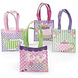 Tea Party Tote Bag Assortment (1 dz)
