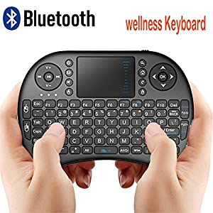 CDC-Rii-Mini-i8-Wireless-QWERTY-Mini-Clavier-Franaise-Rtro-clair-Ergonomique-sans-Fil-avec-Touchpad-Pour-Smart-TV-mini-PC-HTPC-Console-Ordinateur